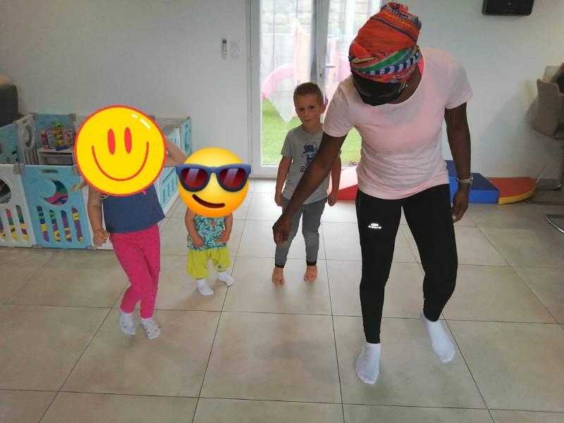 initiation cours de danse africaine tout petits Narbonne
